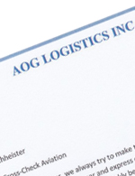 AOG Logistics Commendation